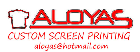 ALOYAS Custom Screen Printing