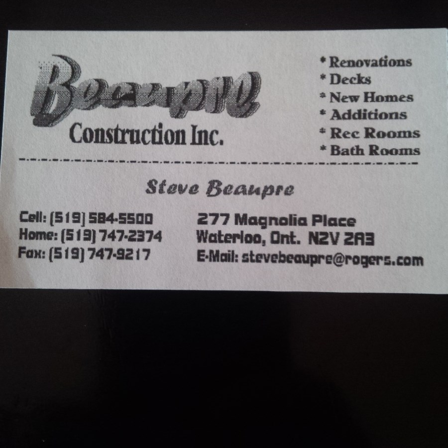 Beaupre Construction